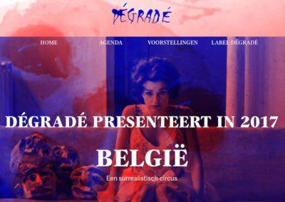 label Dégradé