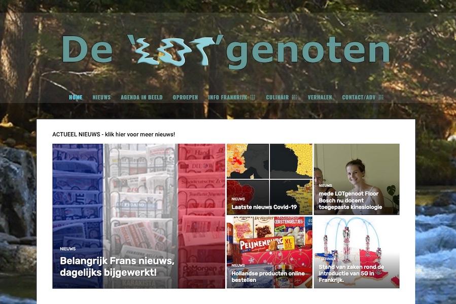 LOTgenoten nieuwe site